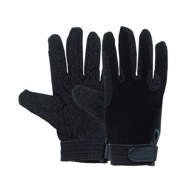 Harry Hall Cotton Pimple Grip Riding Gloves