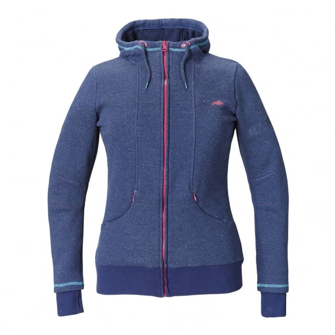 Harry Hall Harlequin Womens Hoody Navy Blue
