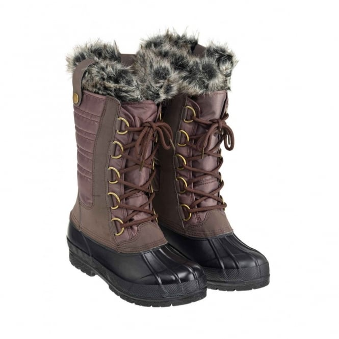 Harry Hall Ladies Nordic Boot Brown
