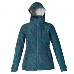 Lilley Womens Waterproof Jacket Blue