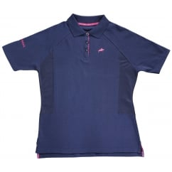 Maltby Ladies Polo Shirt Navy