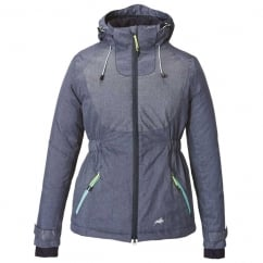 Marlow Womens Reflective Padded Jacket Navy
