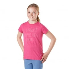 Princess Junior T shirt Pink