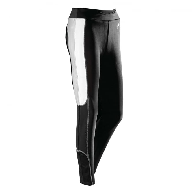 Harry Hall Reflective Womens Breeches Black & Silver