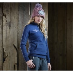 Harry Hall Team Womens 3/4 Zip Top Navy