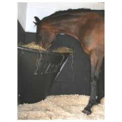 Horse Hay Bar - Horse Feeder Black
