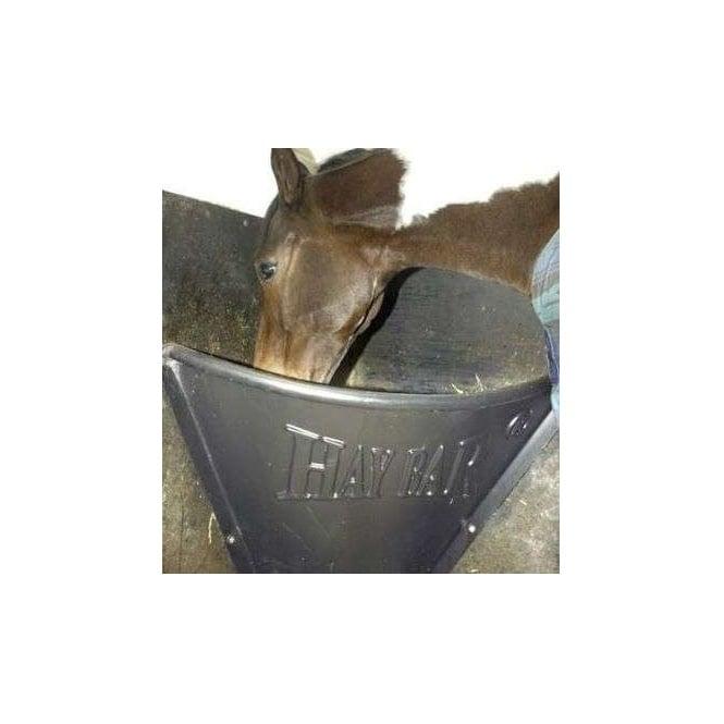 Horse Flat wall mounted Flexible Stable Hay Feeder Hay bar