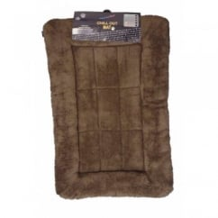 Slumber Chill Out Dog Mat Chocolate Brown