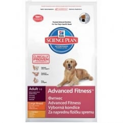 Hills Science Plan Canine Adult Advanced Fitness - Chicken - Large Breed - 12Kg