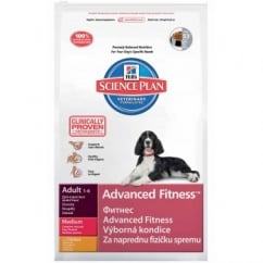 Hills Science Plan Canine Adult Advanced Fitness - Chicken - Medium Breed