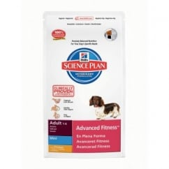 Hills Science Plan Canine Adult Advanced Fitness Chicken Mini 7Kg