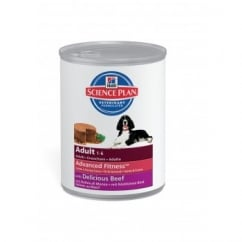 Hills Hill's Science Plan Canine Adult Delicious Beef - 12 x 370g Cans