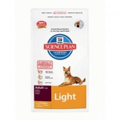 Hills Science Plan Canine Adult Light - Chicken 12Kg