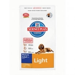 Hills Science Plan Canine Mature Adult 7+ Light - Chicken