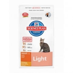 Hills Science Plan Feline Adult Light - Chicken