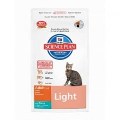Hills Science Plan Feline Adult Light - Tuna - 1.5Kg