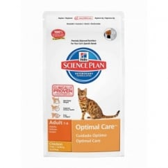 Hills Science Plan Feline Adult Optimal Care - Chicken