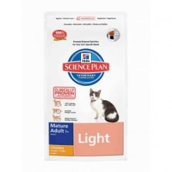 Hills Science Plan Feline Mature Adult 7+ Light - Chicken - 5Kg