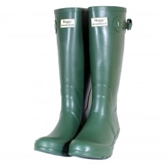 Braemar Wellington Boots Green