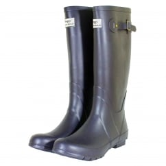 Braemar Wellington Boots Navy
