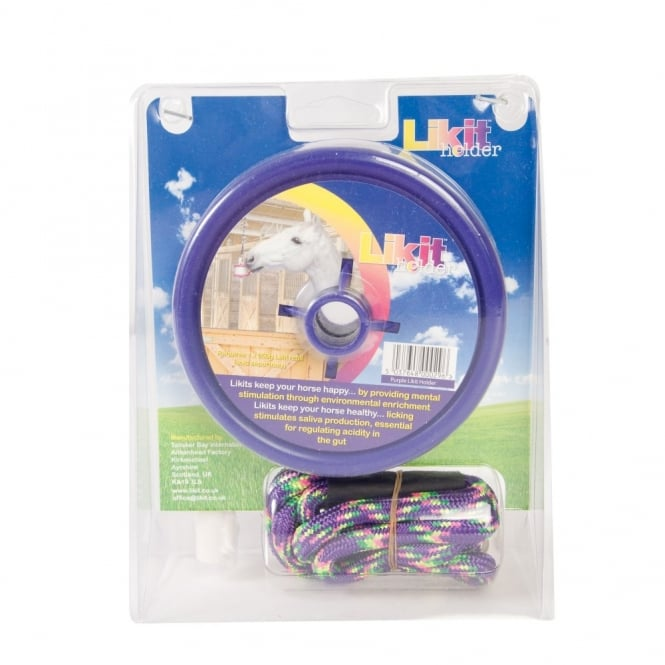 Likit Horse Lick Holder Purple