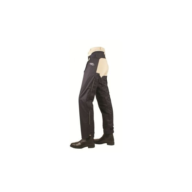Horseware Adult Rambo Fleece Lined Chaps Black