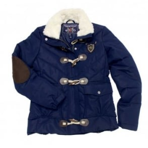 Horseware Biba Ladies Padded Jacket Navy / Black Iris