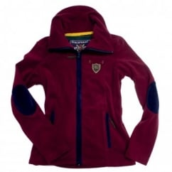 Camille Ladies Fleece Jacket Cordovan Wine