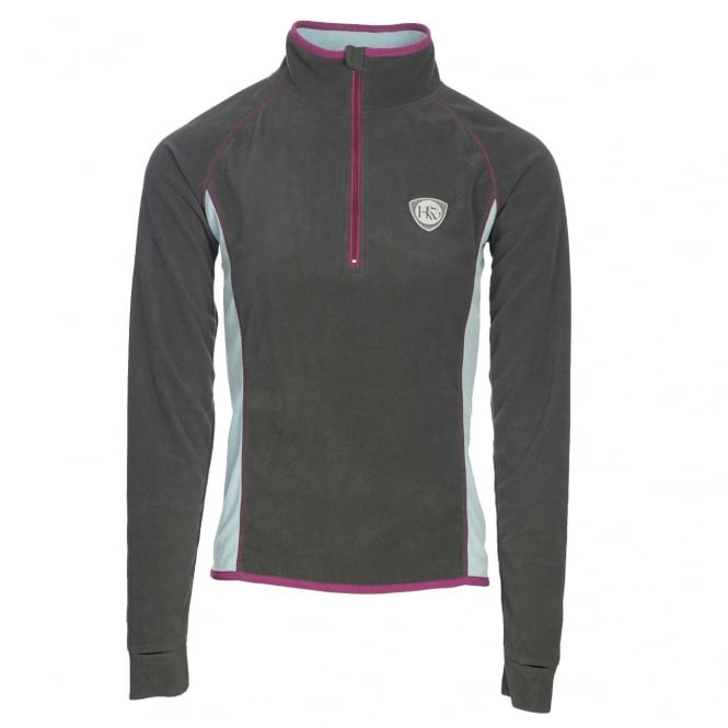 Horseware Fiona Half Zip Fleece Pewter