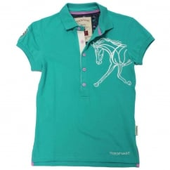 Flamboro Polo Pool Green