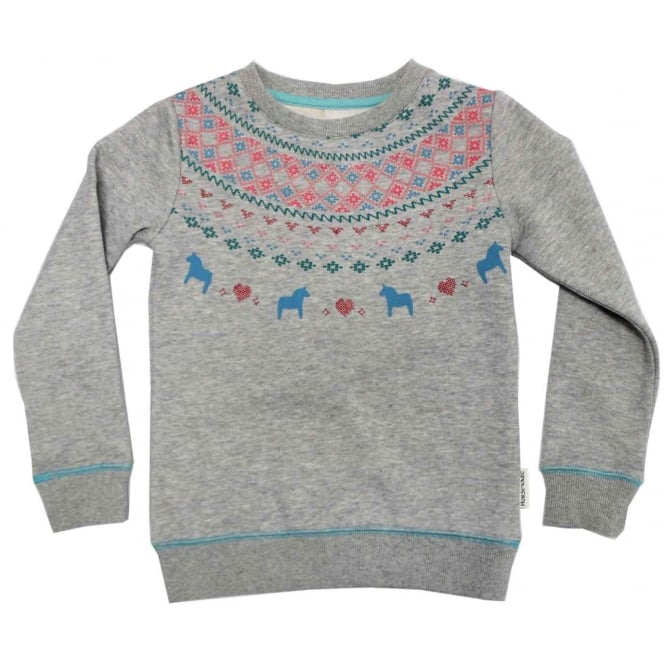 Horseware Girls / Kids Sweater Top Fair Isle