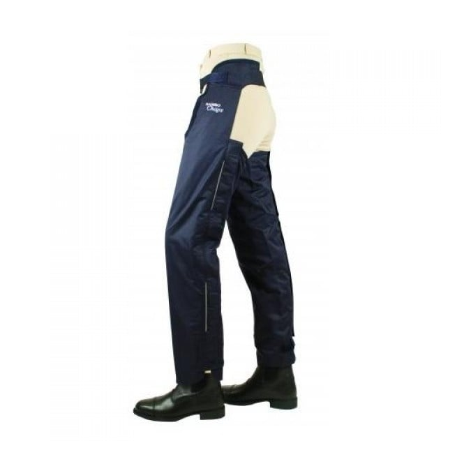 Horseware Kids Rambo Fleece Lined Chaps Navy