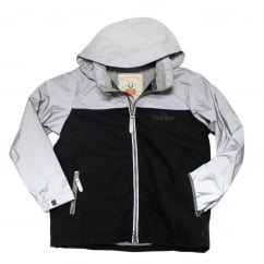 Kids Reflective Corrib Jacket Reflective Grey