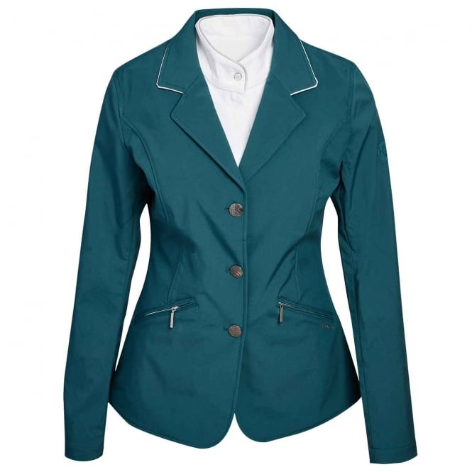 Horseware Ladies Competition Jacket Hydro Green
