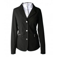 Ladies Competition Riding Jacket – Black