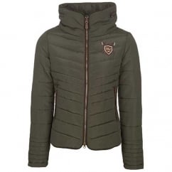 Maya Ladies Padded Jacket Forest Green