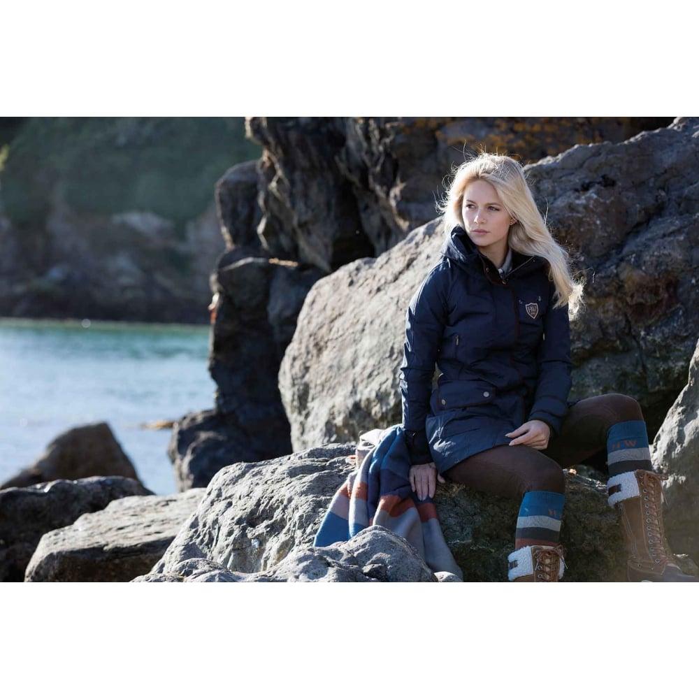 6fac468fe Horseware Polo Elina Parka Jacket Black Iris (Dark Blue)