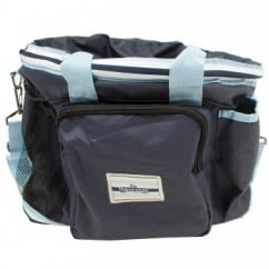 Rambo Newmarket Grooming Kit Whitney Stripe Navy