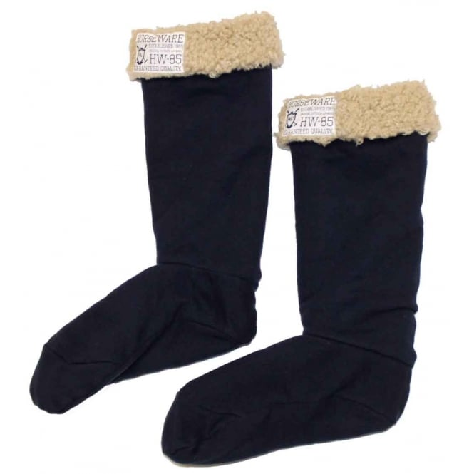 Horseware Welly Cosy Welly Socks Black Iris (Dark Blue)