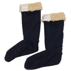 Welly Cosy Welly Socks Black Iris (Dark Blue)