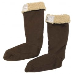 Welly Cosy Welly Socks Chocolate
