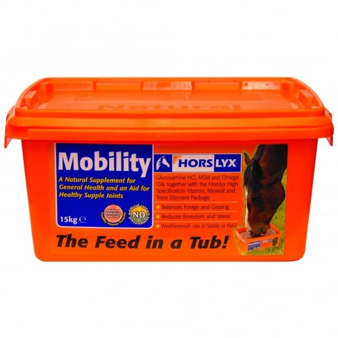 Horslyx Mobility Horse Lick Suppliment