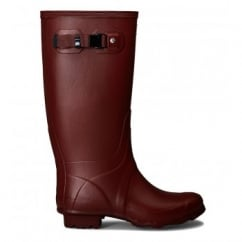 Field Women's Huntress Wellington Boots Chestnut Red