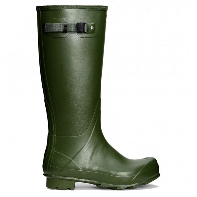 Hunter Men's Norris Field Wellington Boots Vintage Green