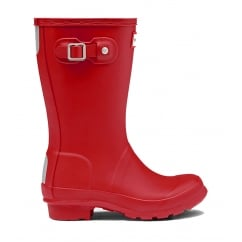 New Original Kids Wellington Boots - Military Red
