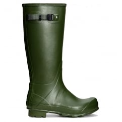 Norris Field Neoprene Lined Wellington Boots Vintage Green