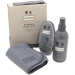 Rubber Care Kit - Boot Buffer and Instant Shine for Hunter Wellies