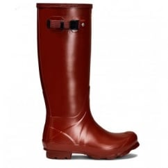Women's Norris Field Wellington Boots Burnt Sienna