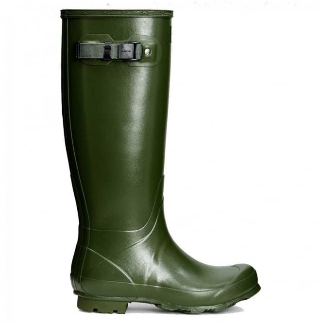 Hunter Women's Norris Field Wellington Boots Vintage Green