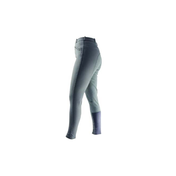 Hy Performance Softshell Ladies Winter Breeches Grey